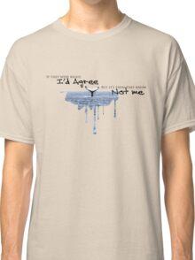 "Cat Stevens ""Father & Son"" Whale Classic T-Shirt"