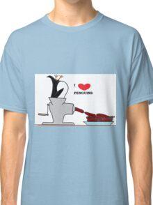 i love penguins Classic T-Shirt