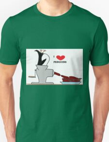 i love penguins Unisex T-Shirt