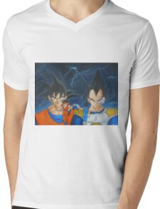 Son   Prince Mens V-Neck T-Shirt
