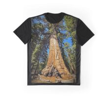 Grizzly Giant Sequoia - Mariposa Grove - Yosemite - California - USA Graphic T-Shirt