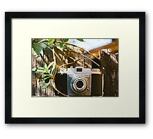 Kodak Pony 135 Vintage Camera Framed Print