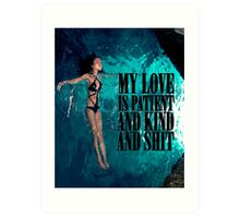 My Love Art Print