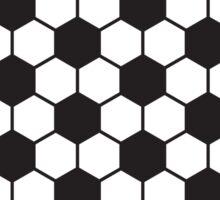 soccer ball pattern Sticker