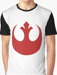 Red Squadron Insignia Graphic T-Shirt