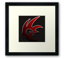 Shadow the Hedgehog Framed Print