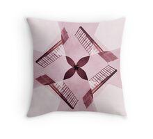 Windmill Quad Pink Throw Pillow