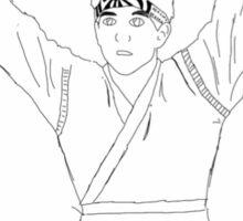 karate kid Sticker