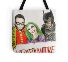 """""""they say that a hero can save us"""" Tote Bag"""