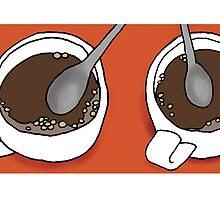 Coffee Mug, Coffee Mug by Annie Riker