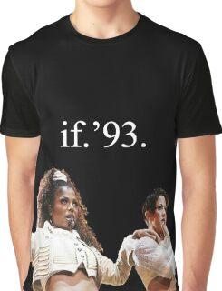 janet x tina x if Graphic T-Shirt