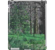 Scenic Colorado Woods - A Nice Place for A Picnic  iPad Case/Skin
