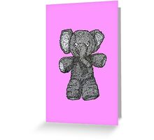 Exasperated Ellie Greeting Card