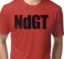 Neil deGrasse Tyson's Planet Super Punch-Out Tri-blend T-Shirt