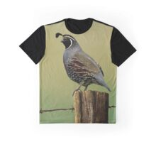 New World Quail Graphic T-Shirt