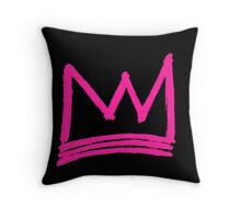 Pink Royalty Throw Pillow