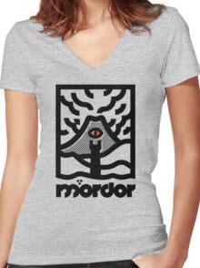 Mordor Women's Fitted V-Neck T-Shirt