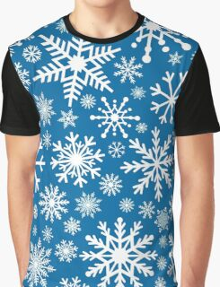 snowflakes pattern Graphic T-Shirt