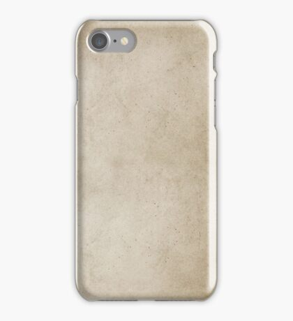 Vintage Tan Brown Parchment Antique Paper Grunge Background iPhone Case/Skin