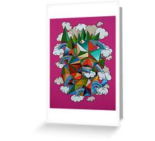 Flying Forest Greeting Card