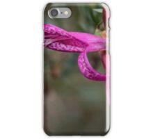 Red native eremophila flower Leith Park Victoria 20151215 6466   iPhone Case/Skin