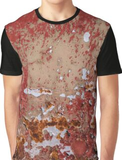 Red Decay Graphic T-Shirt