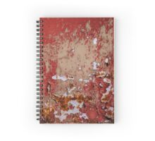 Red Decay Spiral Notebook