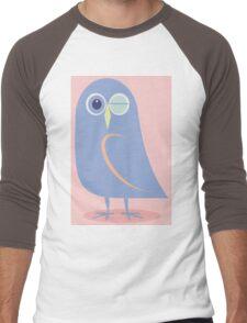WINKING BLINKING OWL Men's Baseball ¾ T-Shirt