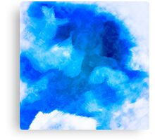 Boundless Blue Canvas Print