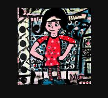 The Girl in the Red Dress Unisex T-Shirt