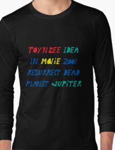 Toynbee Idea Tiles Mysterious Planet Jupiter Resurrect Dead Long Sleeve T-Shirt