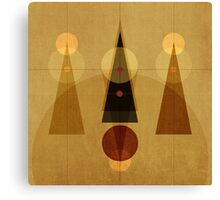 Geometric/Abstract 5 Canvas Print