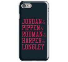 Obviously the Best Starting Lineup iPhone Case/Skin