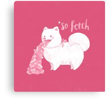 Fido, That's So Fetch! Canvas Print