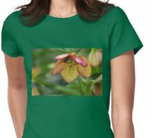 Heavenly Lenten Rose Womens Fitted T-Shirt