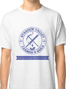Stardew Valley Farmer's Guild Crest Redux Classic T-Shirt