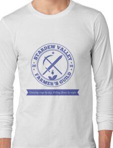 Stardew Valley Farmer's Guild Crest Redux Long Sleeve T-Shirt