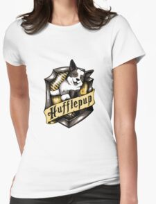 Hufflepup  Womens Fitted T-Shirt
