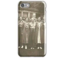 My Mother's family in Vaudeville....... iPhone Case/Skin