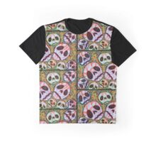 Web of Skulls Graphic T-Shirt