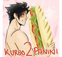 Kuroo 2 Panini Photographic Print