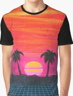 Retro sunset 2 Graphic T-Shirt