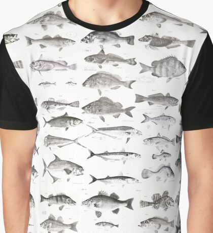 Fish Collection Graphic T-Shirt