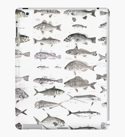 Fish Collection iPad Case/Skin