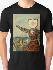 Neutral Kitty Hotel Unisex T-Shirt