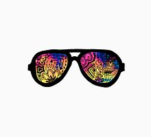 Galaxy Watercolor Zentangle Sunglasses Unisex T-Shirt
