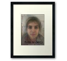 Chris Framed Print