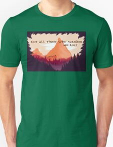 Firewatch Lord of the Rings Tolkien Quote T-Shirt
