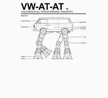 VW Westfalia AT-AT T3 Blueprint Unisex T-Shirt