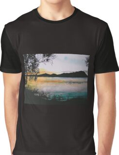 Sunset Shadows Graphic T-Shirt